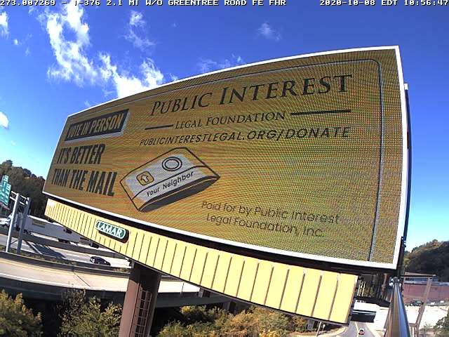 PILF National Billboard Campaign: Avoid Mail Voting