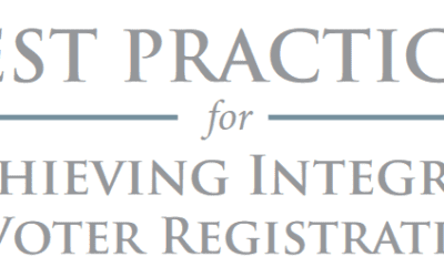 Best Practices for Achieving Integrity in Voter Registration
