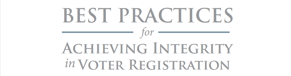 PILF Offers Voter Registration Policy 'Best Practices' to State Legislators