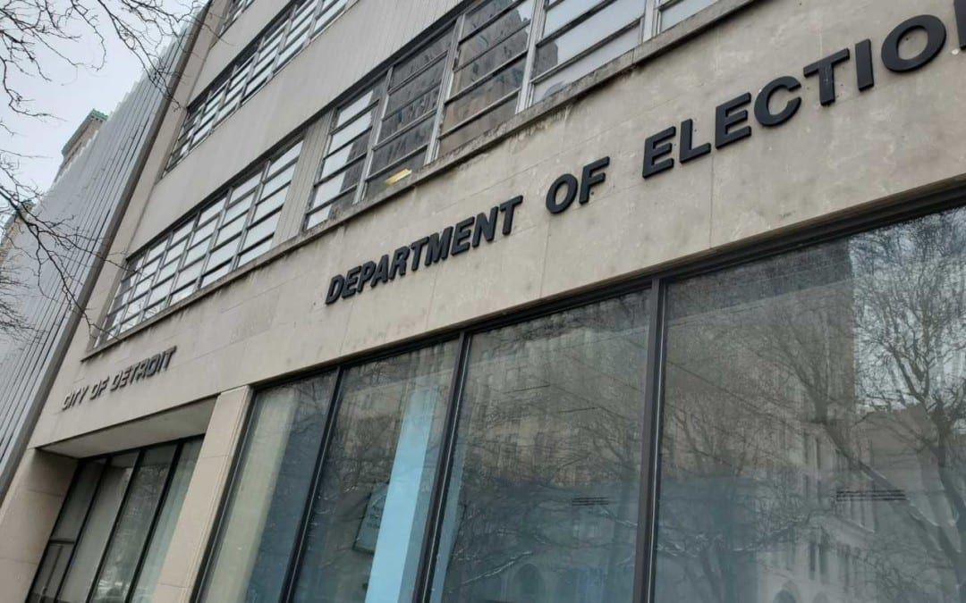 Lawsuit: Detroit Isn't Properly Cleaning Voter Rolls