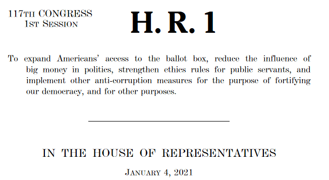 PILF to Congress: H.R. 1 Invites Vulnerabilities in Elections